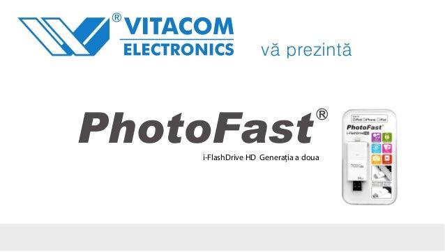 Prezentare PhotoFast iFlash drive pentru iPhone 4 si 5