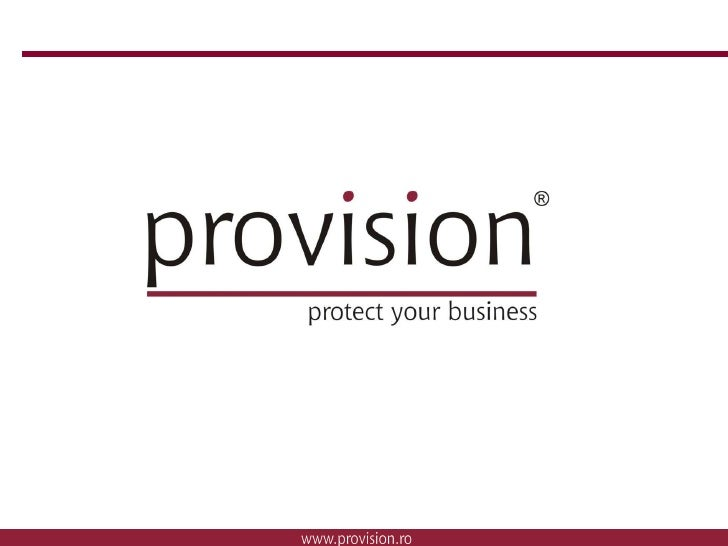 IT Security by provision security distribution