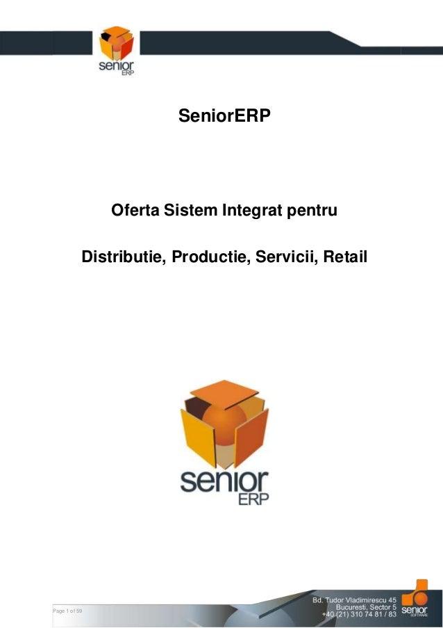 SeniorERP Presentation