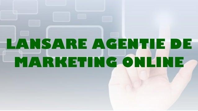 Prezentare agentie marketing online The Pharmacy
