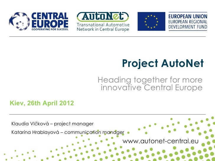 Project AutoNet                                    Heading together for more                                     innovativ...