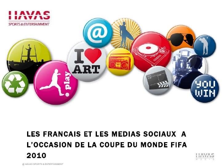 Les Français et les médias sociaux à l\'occasion de la Coupe du monde de football 2010