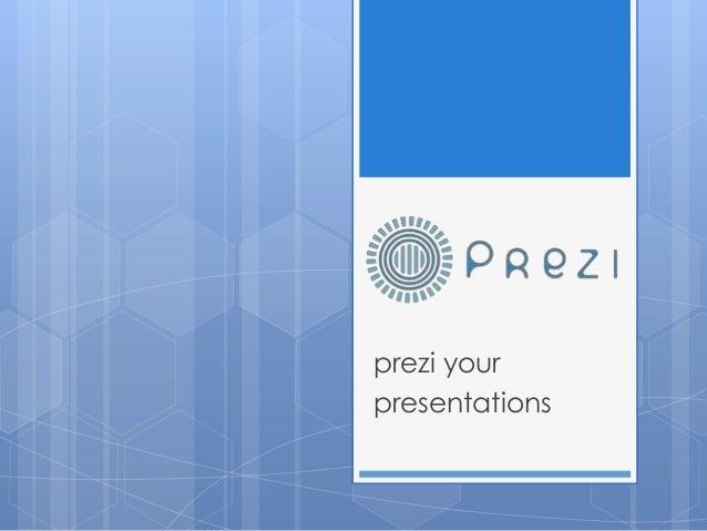prezi yourpresentations