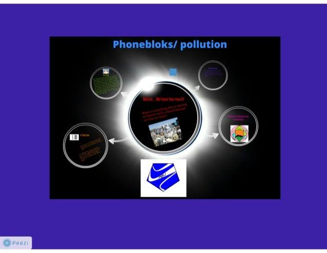 Phoneblok Action Plan
