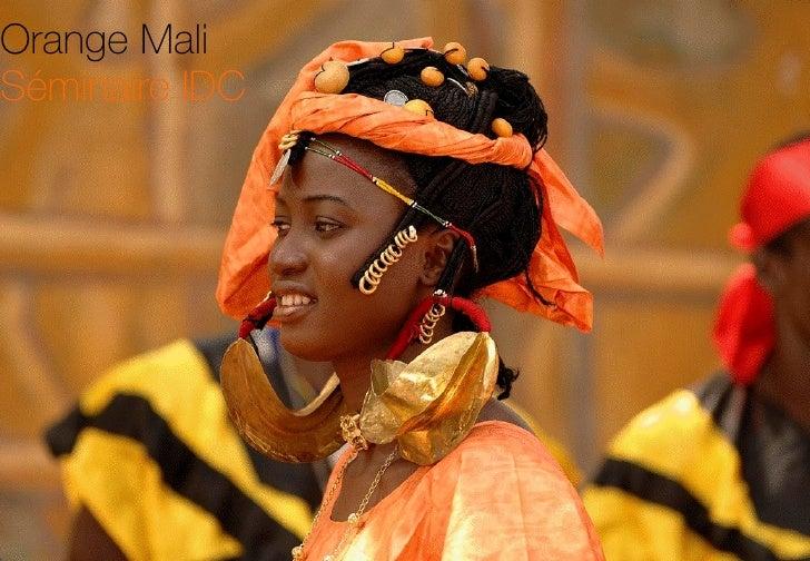 Orange Mali   Séminaire IDC