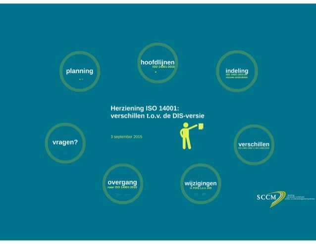 Webinar Herziening ISO 14001: verschillen t.o.v. de DIS-versie