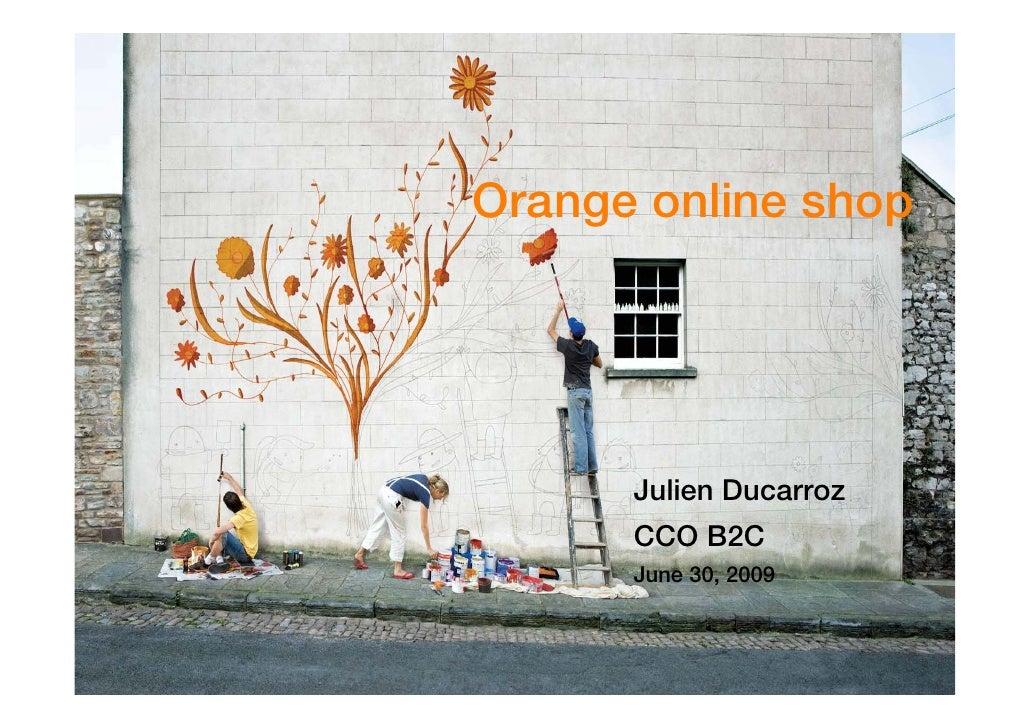 Orange Online Shop
