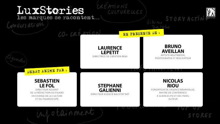 LuxStories : le storytelling du luxe par Brain Value