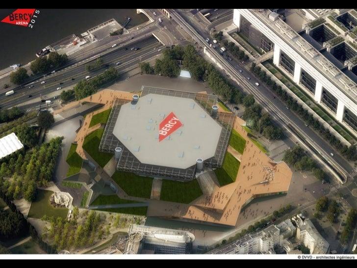 Rénovation du Palais Omnisports de Paris Bercy