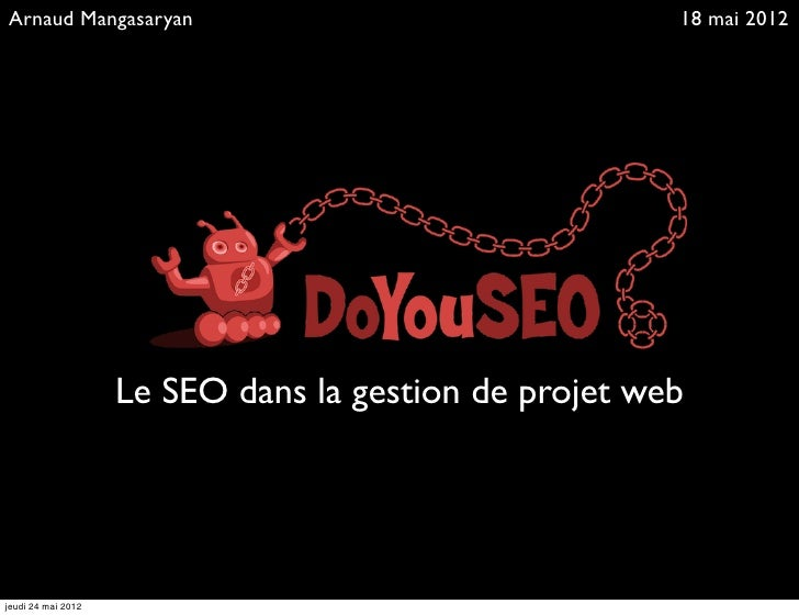 Le SEO dans la gestion de projet web