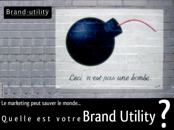 New York Shitty                                                             ?      Le marketing peut sauver le monde...   ...