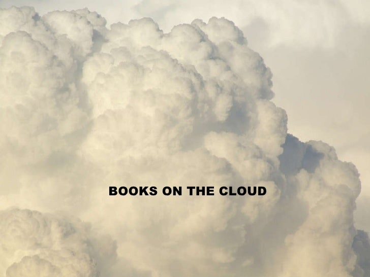 Nuage Titre BOOKS ON THE CLOUD