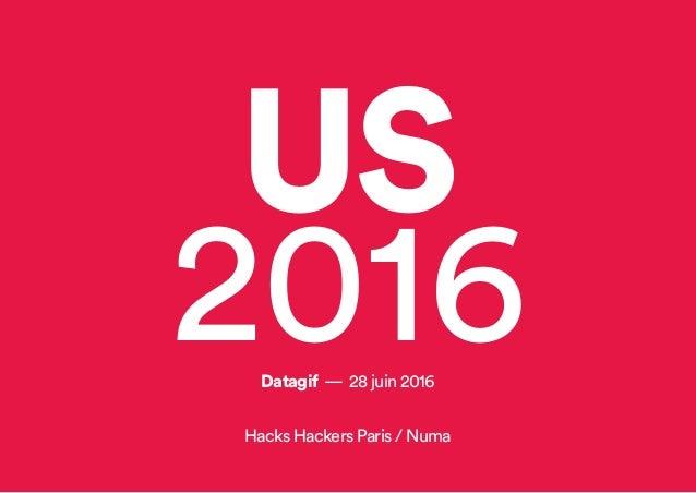 US 2016Datagif — 28 juin 2016 Hacks Hackers Paris / Numa