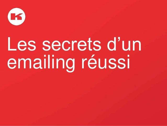 Les secrets d'un emailing réussi