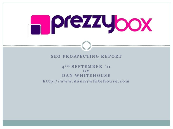 Prezzy Box SEO Audit