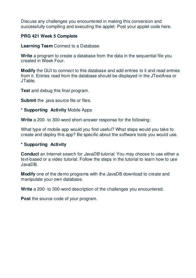 Bsop 429 Entire Course Week 1 - 8 Essay