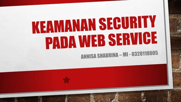 Keamanan Web Service