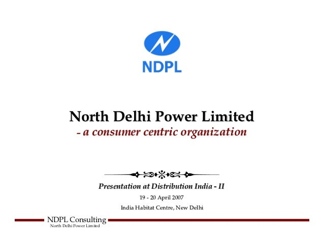Priank mathur-north-delhi-power-limited-a-consumer-centric-organization