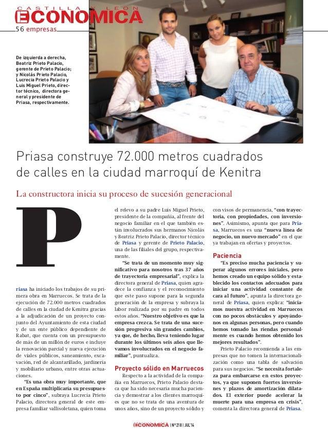 Priasa en Castilla y León Económica
