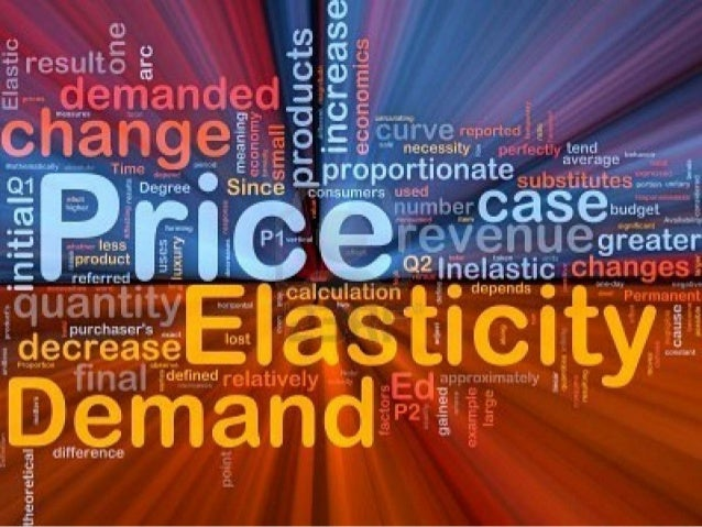 The Formula:             % Change in quantity demandedPde =        __________________________           % Change in Price ...