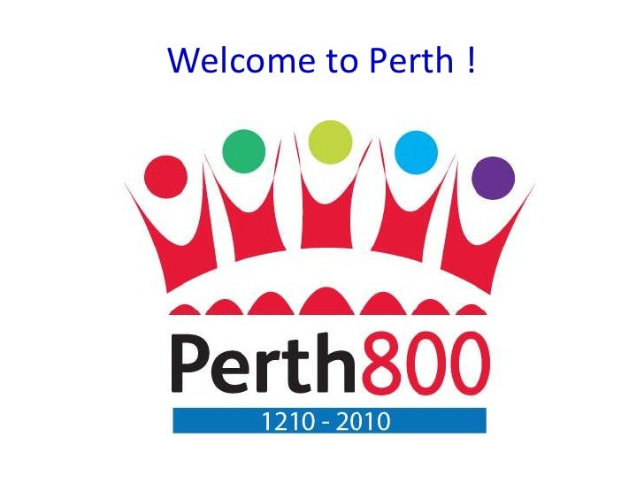 Welcome to Perth !