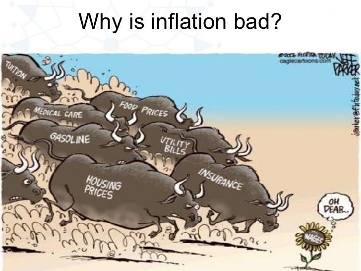 Why is inflation bad?
