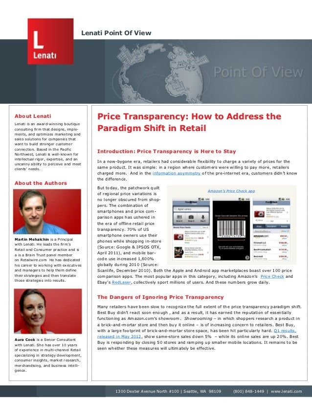 6 Strategies to Address Price Transparency in Retail
