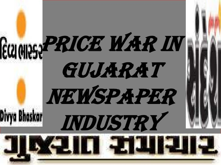 Price war in gujarat newspaper industry