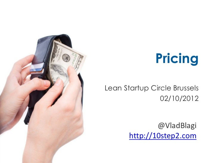 Practical Pricing for Startups
