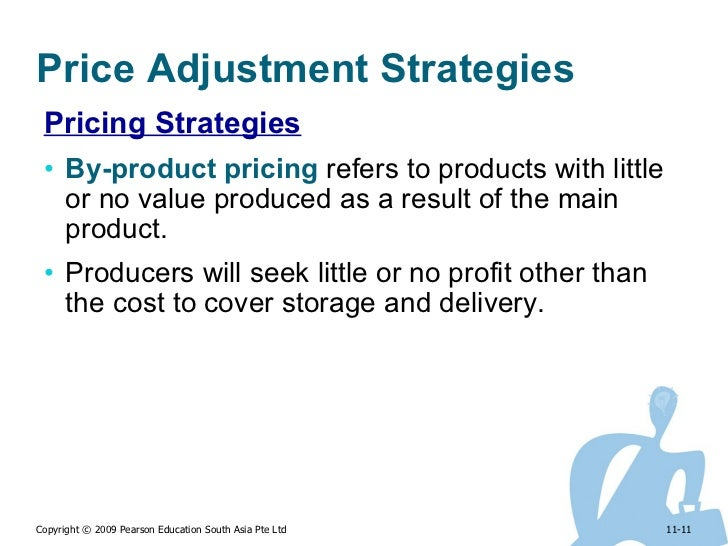 five 5 price adjustment strategies Pricing strategies and pricing decisions are one of the most difficult decisions faced by a marketer there are many different strategies of pricing these include geographical pricing.