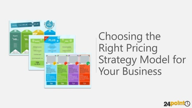 Pricing Strategy Model - PowerPoint Template
