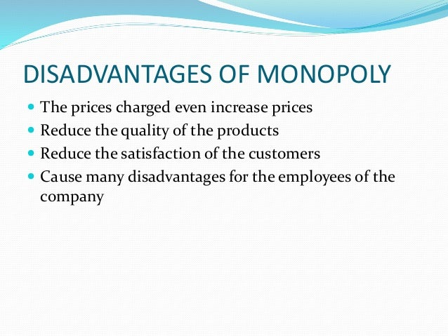 advantages and disadvantages of monopoly in indian railways What are the disadvantages of railways 011-40705050 or call me upgrade cbse class 9 cbse class 9 disadvantages of railways: write the advantages and disadvantages of road transport show more questions.
