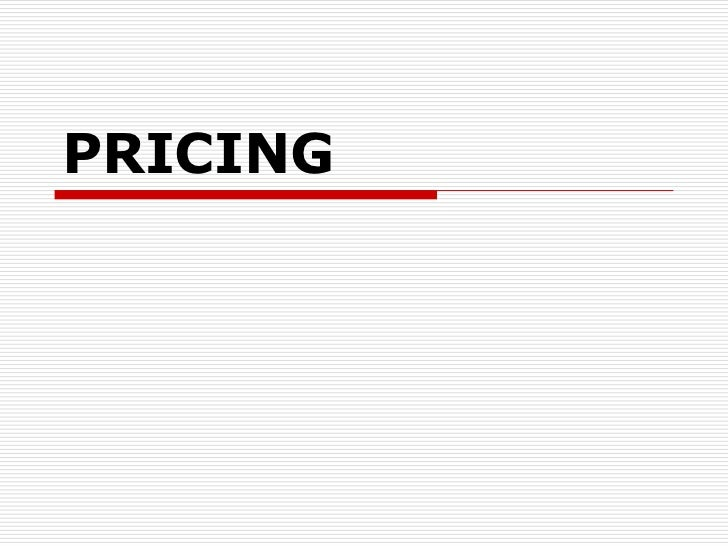 Pricing bookbooming