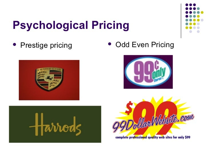 odd pricing and more essay The elements of the extended marketing mix (the 7ps) which are price, product, place, promotion, people, processes, physical evidence will be developed, how they helps to examine the stages and steps in planning, also understand how those different stages of the marketing planning fit together and related to the overall organizational planning framework.
