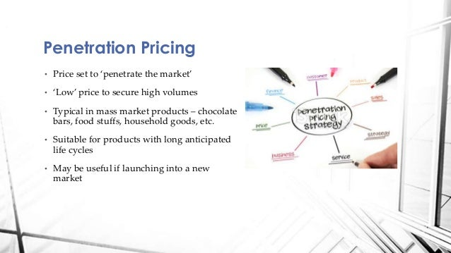 Penetration price strategy will know
