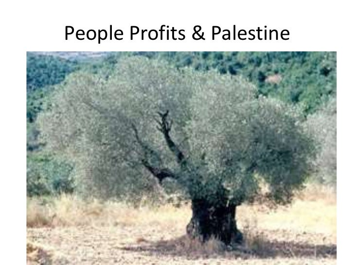 People Profits & Palestine