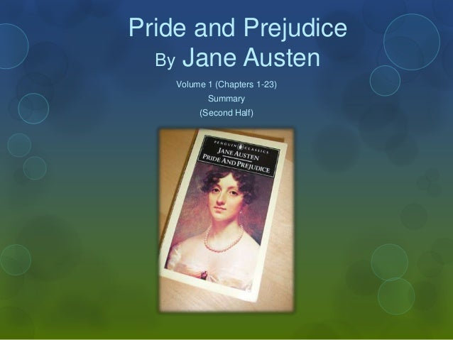 Pride and Prejudice By Jane Austen Volume 1 (Chapters 1-23) Summary (Second Half)