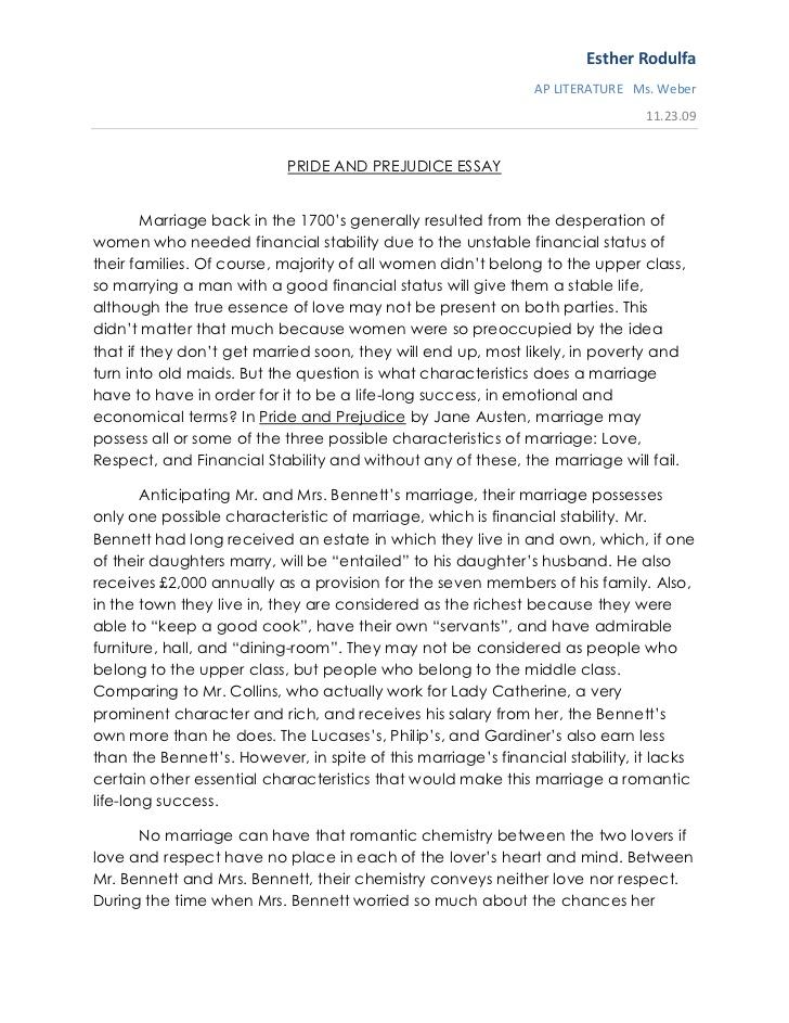Essays on discrimination and prejudice essay prejudice and