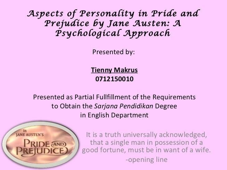 Pride & Prejudice (presentation)