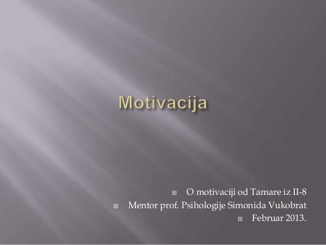Prikaz pojedinih motiva
