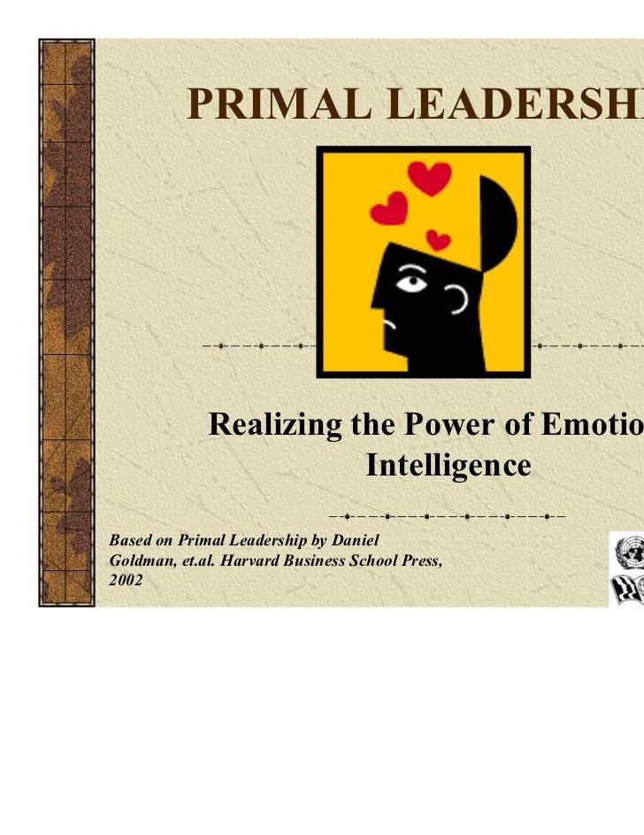 Primal leadersip2