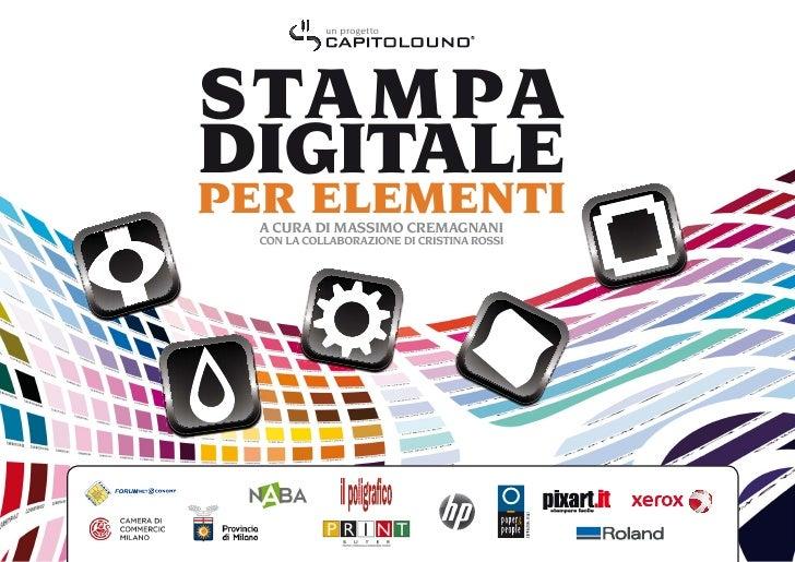 Introduzione alla stampa digitale