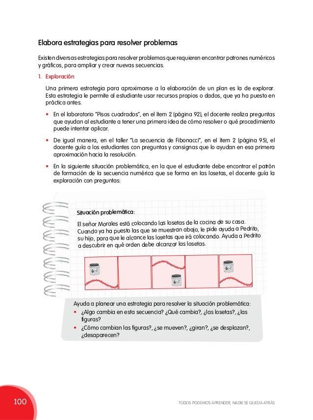 Elabora estrategias para resolver problemas Existen diversas estrategias para resolver problemas que requieren encontrar p...