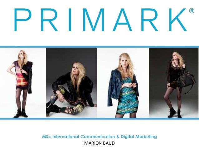 marketing strategy primark Primark marketing 1830 words 8 pages show more  future marketing strategies 6  managing marketing in primark by: rivu barua, marketing consultant, primark.