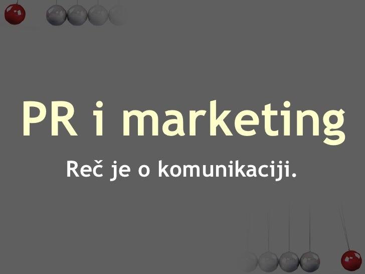 Pr i marketing