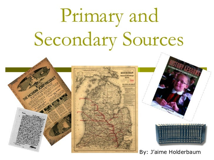 Primary+And+Secondary+Resources