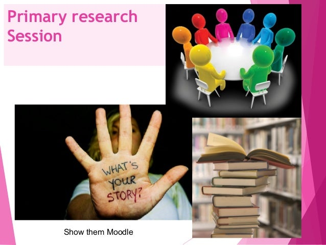 how to do primary research Reporting research findings 4 when student writers report on information obtained from primary research, they do not use the appropriate forms of expression.