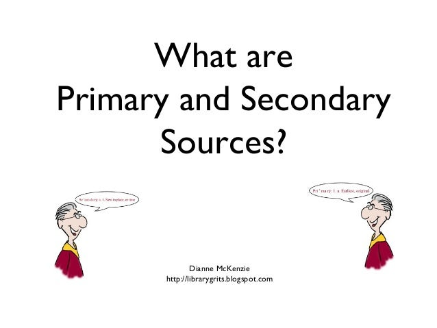 Research tools used in primary and secondary research