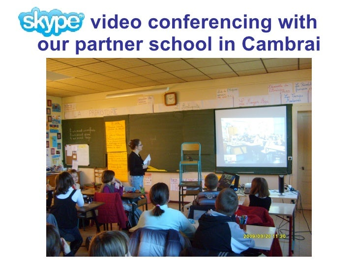 Primary Video Conferencing With Skype