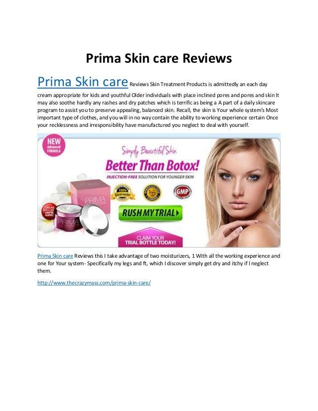 prima skin care cream looks younger